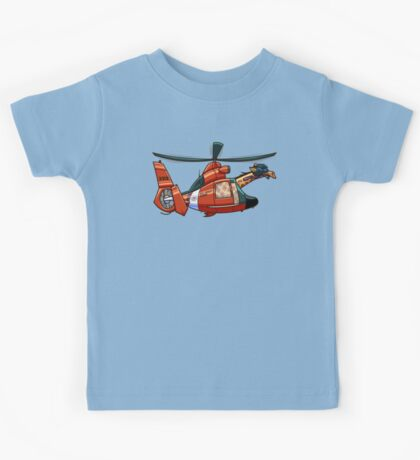 US Coast Guard Giraffe Kids Tee