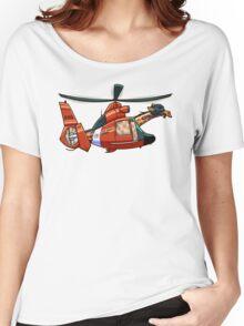 US Coast Guard Giraffe Women's Relaxed Fit T-Shirt