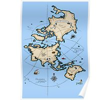 Mercator Map Poster