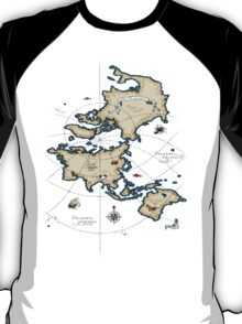 Mercator Map T-Shirt