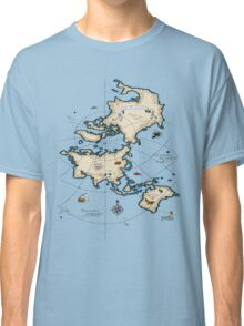 Mercator Map Classic T-Shirt
