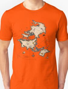 Mercator Map T-Shirt