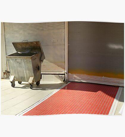 Garbage bin... Poster