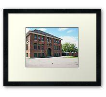Alice St. Elementary School Framed Print