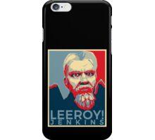 Leeroy Jenkins Obamized iPhone Case/Skin