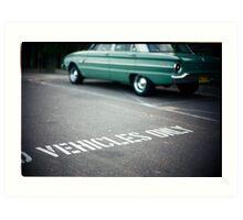 Vehicles Only Art Print