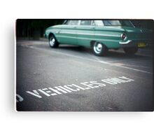Vehicles Only Metal Print