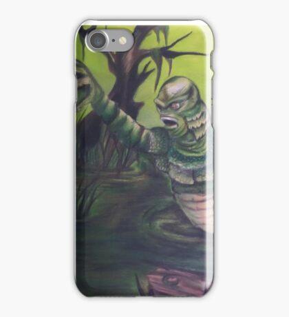 Swamp Man iPhone Case/Skin