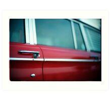 Car Door Handle Art Print