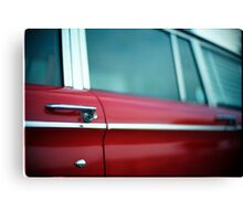 Car Door Handle Canvas Print