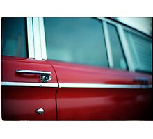 Car Door Handle Photographic Print