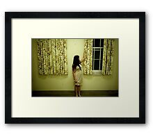 it's a nice day outside Framed Print