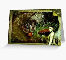 Tis Where Fairies Are Kept....  Greeting Card