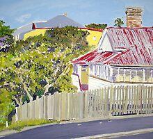 Highgate Hill Brisbane  by gillsart