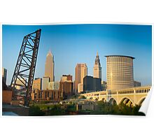 Cleveland Ohio (Alan Copson © 2007) Poster
