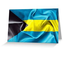 Bahamas Flag Greeting Card