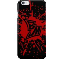 BM - Splatter iPhone Case/Skin
