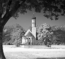 Kolomanskirche. Schwangau. Bavaria (Alan Copson © 2007) by Alan Copson