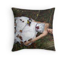 I Shot The Bride Throw Pillow