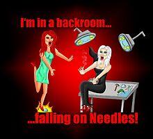 Falling on Needles by nezumi333