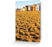 Brighton Beach Greeting Card
