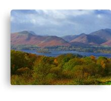 Autumn in the Lake District  Canvas Print