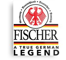 Cool 'Fischer A True German Legend' T-shirts, Hoodies, Accessories and Gifts Metal Print