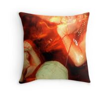 Krum Bums Throw Pillow