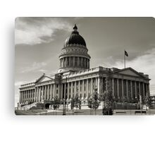 Capital Memory Canvas Print