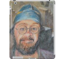 Almost All The Girls Are Taller Than Me - Portrait In Crayon iPad Case/Skin