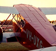Planes at Dusk by roheath