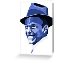 Frank Sinatra - Ol' Blue Eyes Greeting Card