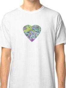 Color Burst Heart Classic T-Shirt