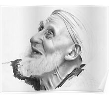 Old man from from North Africa Poster