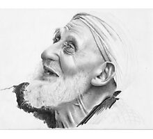 Old man from from North Africa Photographic Print