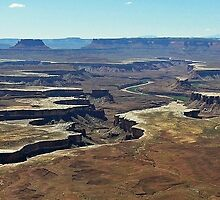 Green River Overlook, Island In The Sky, Canyonlands National Park, UT by Rebel Kreklow