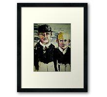 Brother's Grimm Framed Print