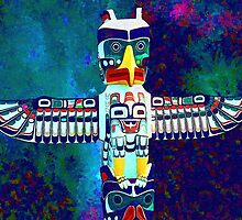 Totem of the First Nations by Bill Wynn