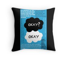 TFIOS Quotes Throw Pillow
