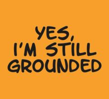 Yes, I'm still grounded by TimeLadyF
