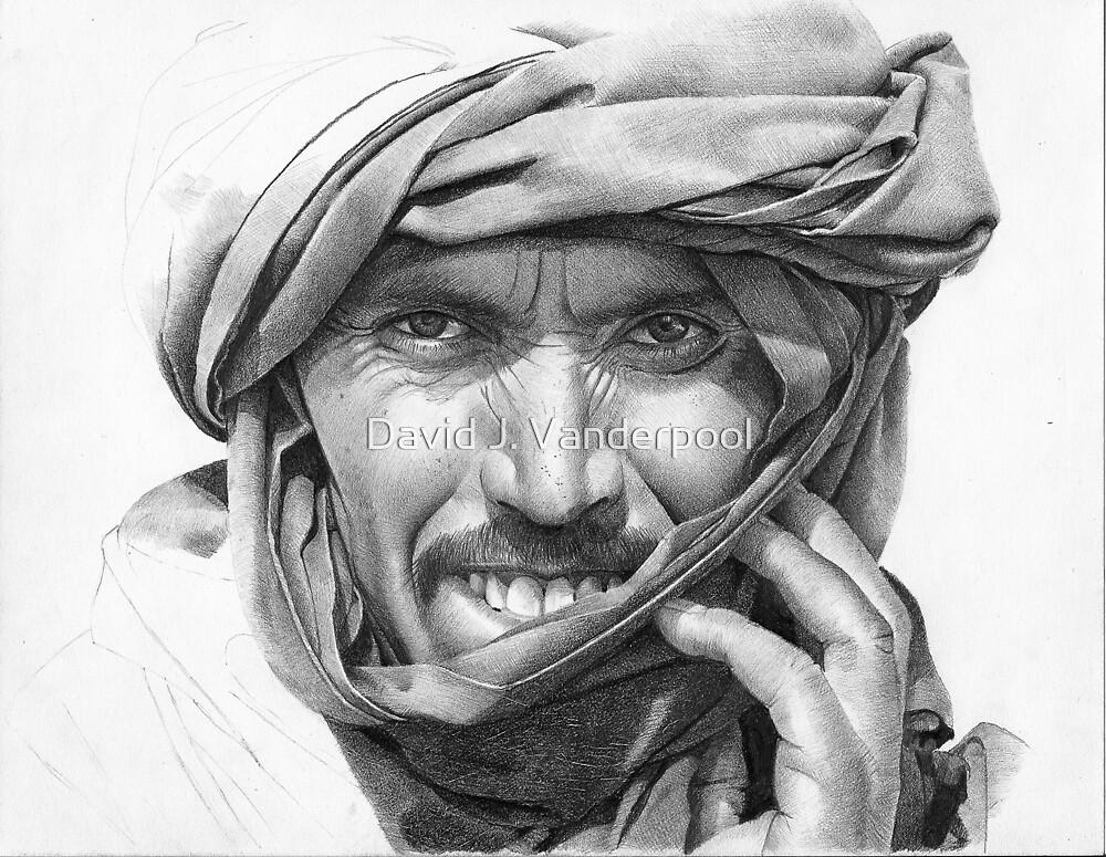 Abdel - Man in a Turban by David J. Vanderpool