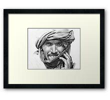 Abdel - Man in a Turban Framed Print