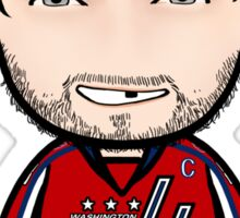 Alexander Ovechkin (with beard) Sticker