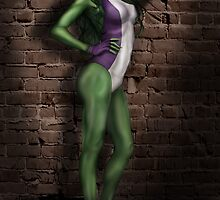 SheHulk by Hallowette