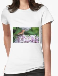 Painted Lady  Womens Fitted T-Shirt