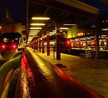 Night Train-Boston South 2 by Lee Donavon Hardy