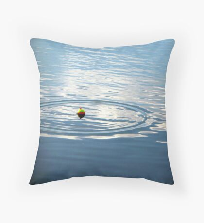 Fishing with Daddy Throw Pillow