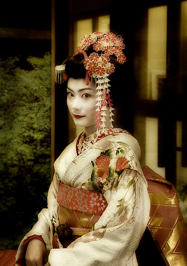 Meiko at Gion by Charles McKean