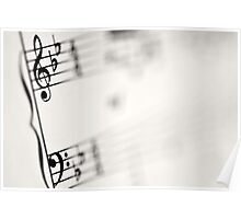 Music Notes Poster