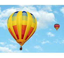 Balloons over Dubai Photographic Print
